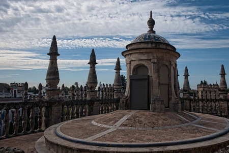 Covers Holy Cathedral of Seville, Andalusia Stock Photo