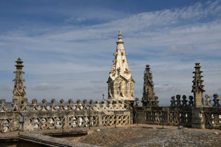 quenching: Covers Holy Cathedral of Seville, Andalusia Stock Photo