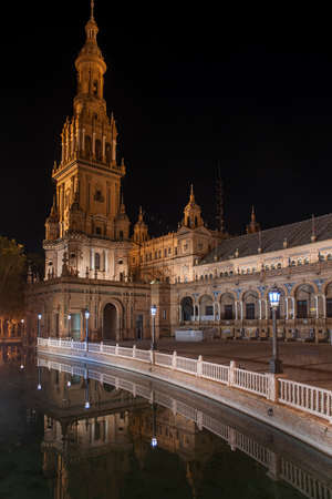 monuments: Monuments of Seville, Spain Square