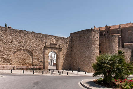 monumental: monumental city of Ronda in the province of Mlaga, Andalusia Stock Photo
