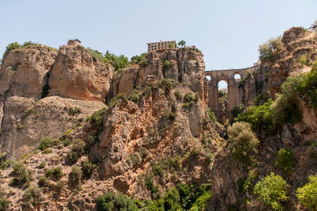 gash: monumental city of Ronda in the province of Mlaga, Andalusia Stock Photo