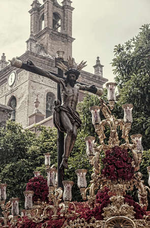 brotherhood: hermandad del buen orden, Pascua en Sevilla Foto de archivo