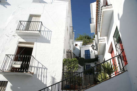 frigiliana: Southern villages of southern Spain. Frigiliana in the province of Mlaga, Andalusia