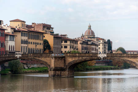 monumental: Views of the monumental town of Florence in Italy Stock Photo