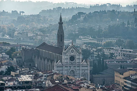 monumental: views of the monumental city of Florence, Italy