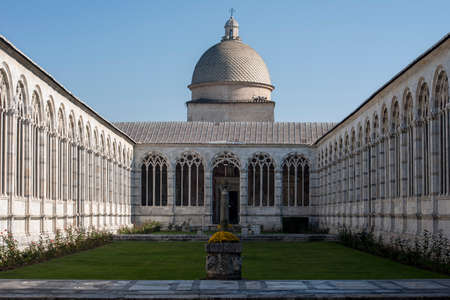 building monumental: monumental cemetery in the city of Pisa, Italy Editorial
