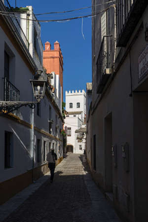 jewry: strolling through the ancient streets of Seville and today juder?a neighborhood called Santacruz