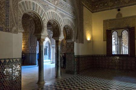 ambassadors: Real Alczar of Seville, Andalucia, Hall of Ambassadors Editorial