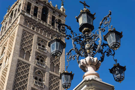 monuments: Monuments of Seville, La Giralda Stock Photo