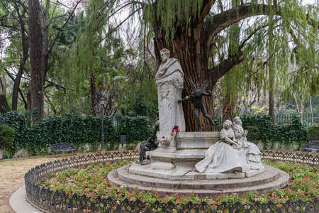 metropolis image: monument dedicated to the poet Gustavo Adolfo Bcquer in Seville