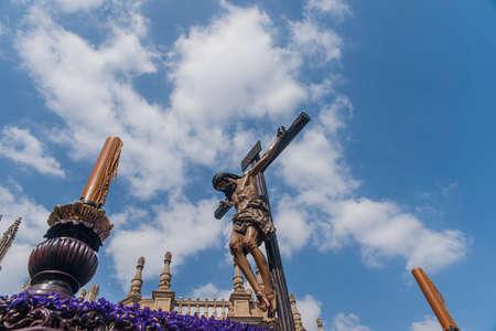 fraternidad: Paso de misterio de la hermandad de los Estudiantes, Semana Santa de Sevilla