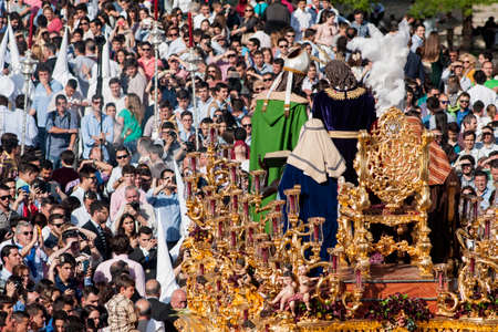 brotherhood: Jesus of Nazareth to Caifs, Holy Week in Seville, brotherhood of San Gonzalo