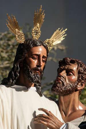 brotherhood: brotherhood of the kiss of Judas, Holy Week in Seville, Spain