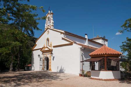 montane: Pe? ? a de Arias Montano in the municipality of Al�jar, Huelva Stock Photo
