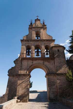 priory: Portico of the Priory Church of Aracena, Andalusia