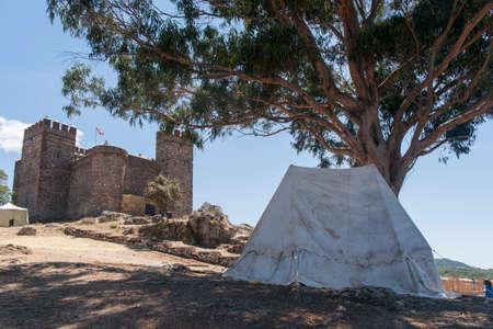 huelva: castles in the province of Huelva Cortegana