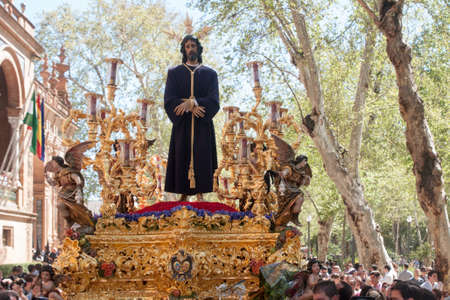 holy week in seville: Captive Jesus, Holy Week in Seville