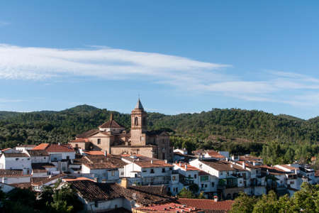 town planning: peoples of the Sierra de Huelva, Galaroza Stock Photo