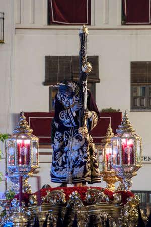 brotherhood: Brotherhood of San Roque, Easter in Seville Stock Photo