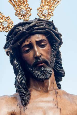 fraternidad: Rostro de Jes�s, Semana Santa de Sevilla, Hermandad de San Benito