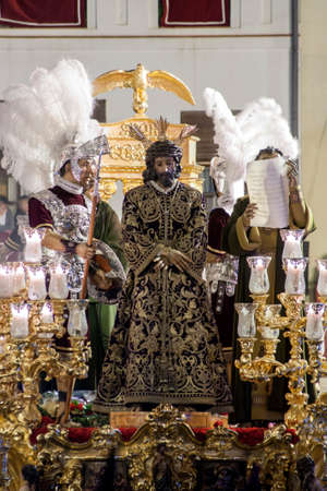 fraternidad: Paso de misterio de la Hermandad de la Macarena, Semana Santa de Sevilla