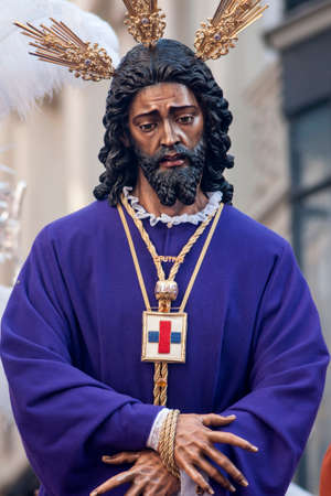 rescued: Holy Week in Seville Jesus captive and rescued