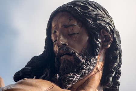 fraternidad: La muerte de Jes�s en la cruz, Semana Santa de Sevilla, hermandad de estudiantes