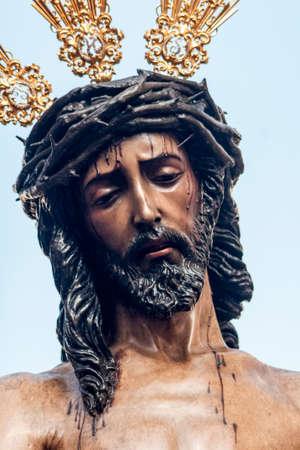 fraternidad: Rostro de Jes�s de Nazaret, Hermandad de San Benito, Pascua en Sevilla