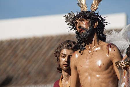 fraternidad: Jess despojado hermandad, Pascua en Sevilla