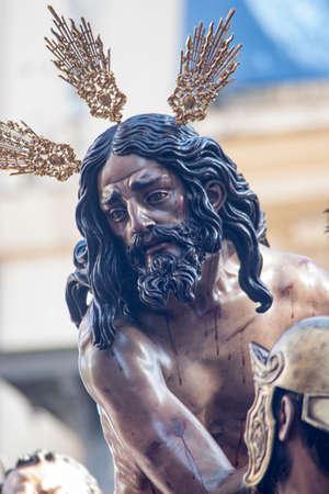 fraternidad: Procesión de la hermandad de las Cigarreras, semana santa de Sevilla