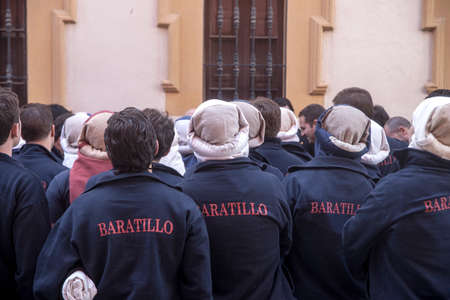 guilds: the bearers, Holy Week in Seville Editorial