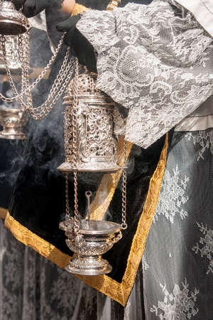 holy week in seville: Holy Week in Seville, incense