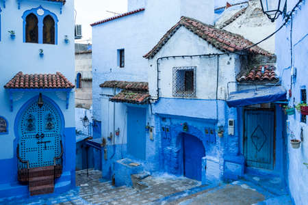 blue city of Chefchaouen in Morocco