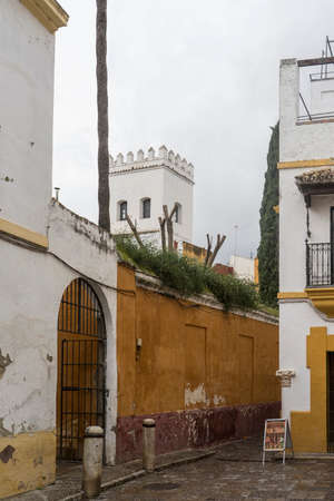 jewry: strolling through the ancient streets of Seville and today judera neighborhood called Santacruz
