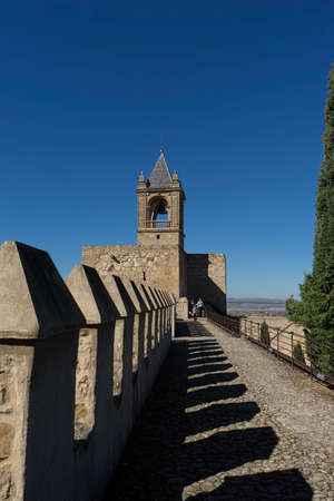 Monuments in Andalusia, the Alcazaba of Antequera, Malaga Stock Photo