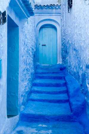Travel Between the beautiful streets of the blue city of Chefchaouen in Morocco