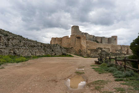 zaragoza: Ayub Castle in the town of Calatayud, Zaragoza