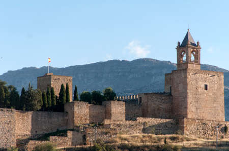 monument historical monument: Spain monuments in the citadel of Antequera in Malaga