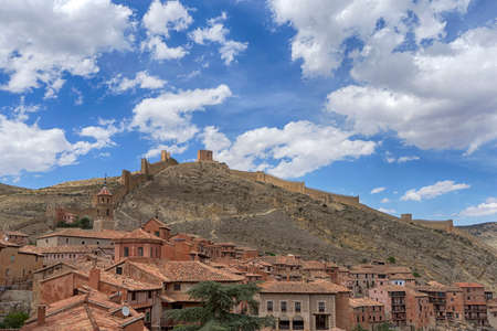 aragon: Beautiful villages of Spain, Albarracin in the province of Aragon