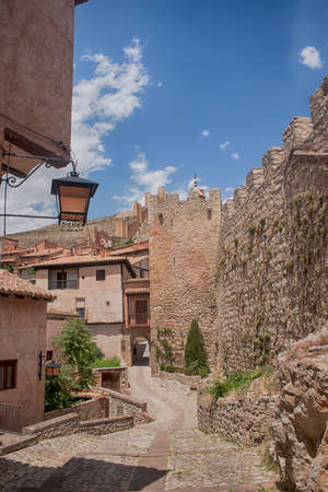 municipality: Albarracin municipality in the province of Teruel, Spain ? a Stock Photo