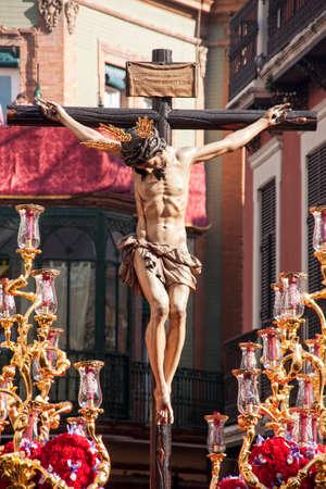 brotherhood: Cristo de la hermandad de San Bernardo, Semana Santa de Sevilla