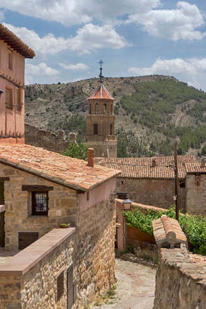 Commune of AlbarracÃn in the province of Teruel, Spain