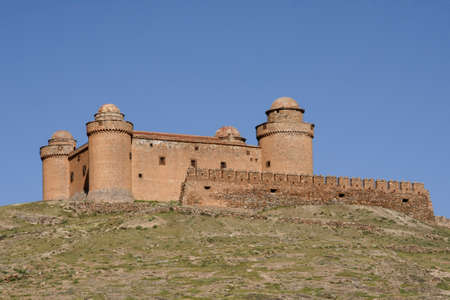 Castle of Calahorra in the province of Granada, Andalusia