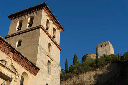 Monuments of Spain � a, Alhambra in Granada Editorial