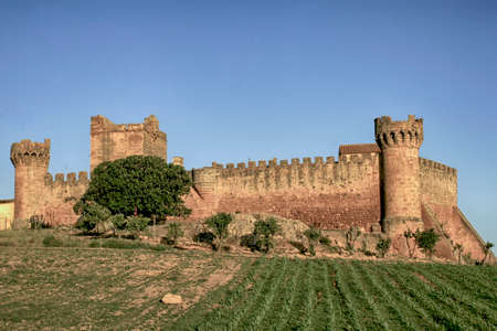 seville: The Castle of Marchenilla in Alcala de Guadaira, Seville