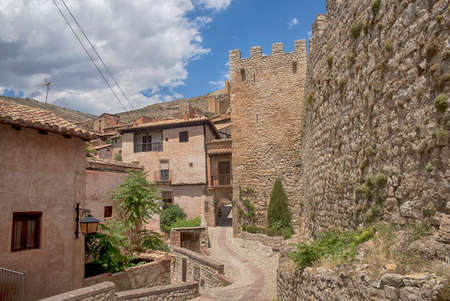 Commune of Albarrac   in the province of Teruel, Spain Editorial