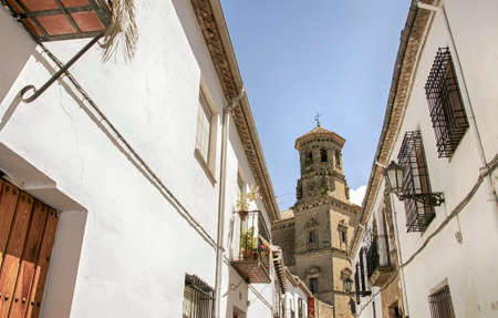 monumental town of Baeza in the province of Jaén © n, AndalucÃa 에디토리얼