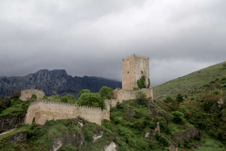 The castle of the Ivy or of the four corners in the town of Cazorla, Jaen