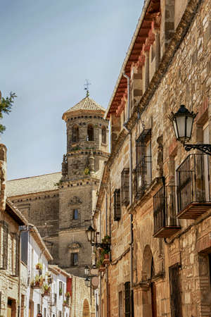Monumental cities of Spain, Baeza in Andalusia Stock Photo