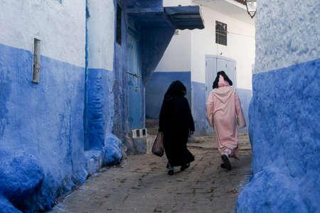 beautiful cities of Morocco, Chefchaouen Standard-Bild - 96167300